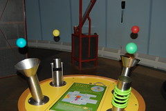 Just one of the many neat toys and experiments found at COSI.