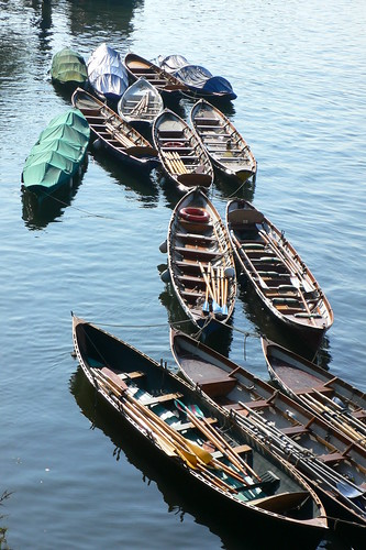 Boats by Richmond Bridge