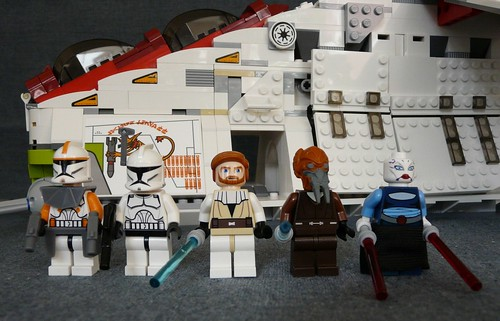star wars 7676. Star Wars Lego 7676 Republic