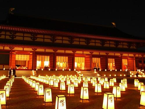 薬師寺(万燈会・夜)-11