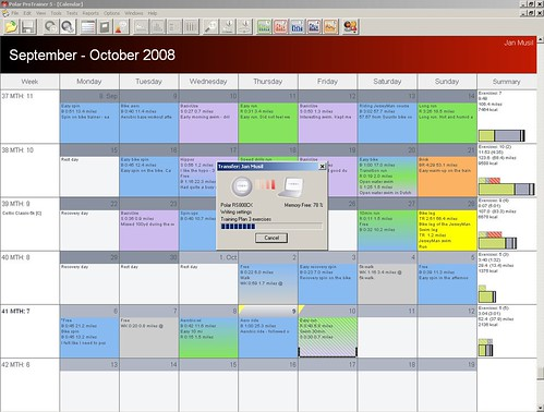 Training Calendar Template  BesikEightyCo