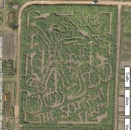 South 47 Farm Corn Maze