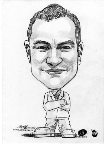 Caricatures Web in Travel 2008 Patrick Andres