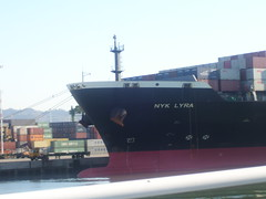 NYK LYRA (the finder of things...) Tags: boat ship vessel cargo container shipping portofoakland