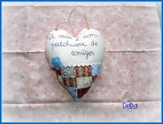 Corao Filosfico! (Deda Wickert) Tags: pillow patch almofada bordado embroiderypicnik