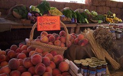 Abbondanza Farm Stand, Sept '08, Inside