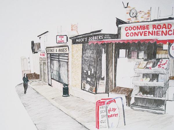 Coomb road, Brighton