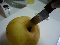 製作冰糖燉梨的步驟1