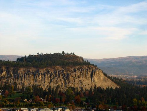 View of Diworth Mountain from Kelowna