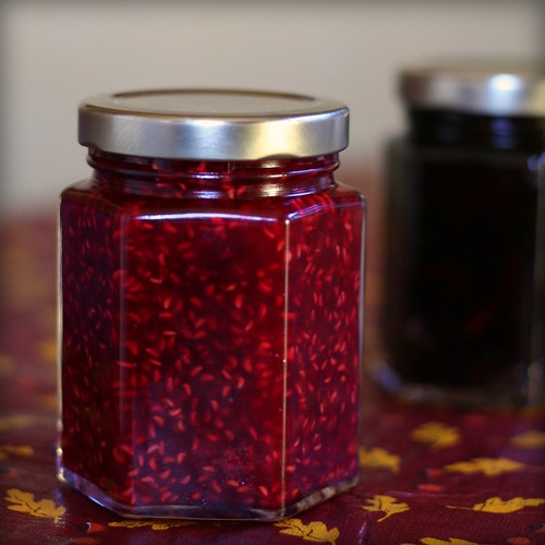 Raspberry and Plum Jam