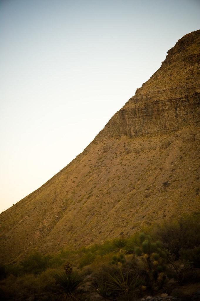 hill side.