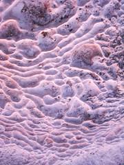 Travertine surface at night, Pamukale, Turkey (lboogie) Tags: texture turkey weird trkiye turkiye surface turquie trkei 2008 rtw turkish pamukkale tirkiye pamukale turkei pammukale pammukkale travertines october2008 oberflaechen uploadturkey1