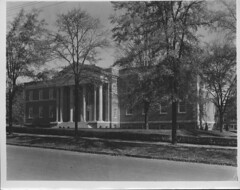 Original Russell Library, constructed 1932