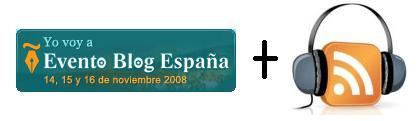 Podcasting en Evento Blog España 2008