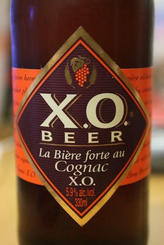 de la bière XO au Cognac achetée à Cognac ... bonne mais pas forcément meilleur saveur de l'année ...