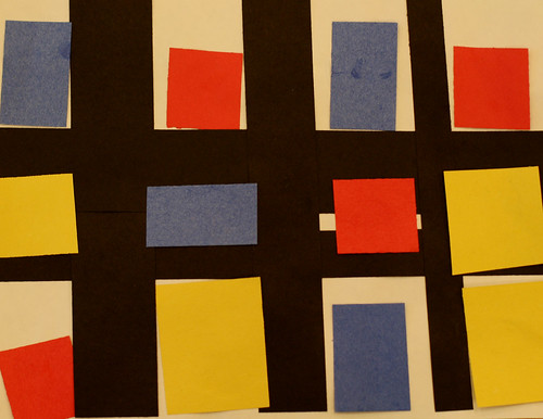 Alexa's primary colored rectangles and squares