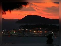 An opera in red (*shana) Tags: city sunset red sea st boat colorful adorable croatia shana split dalmatia snjezananovak colorphotoaward