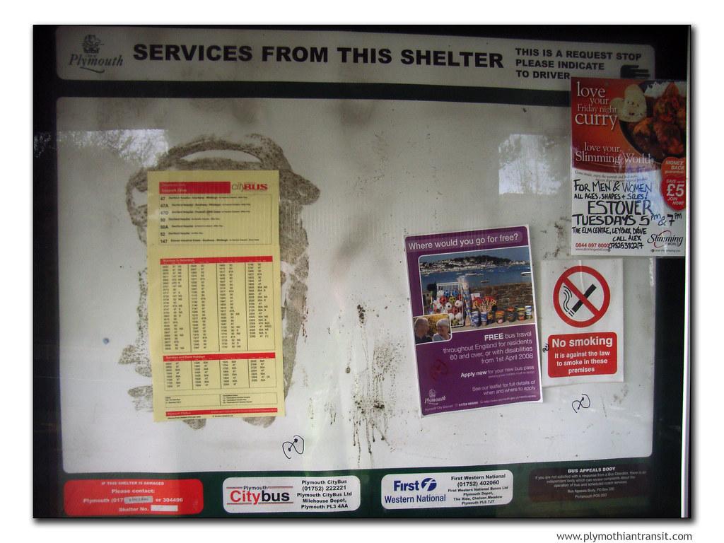 bus stop display (by didbygraham)