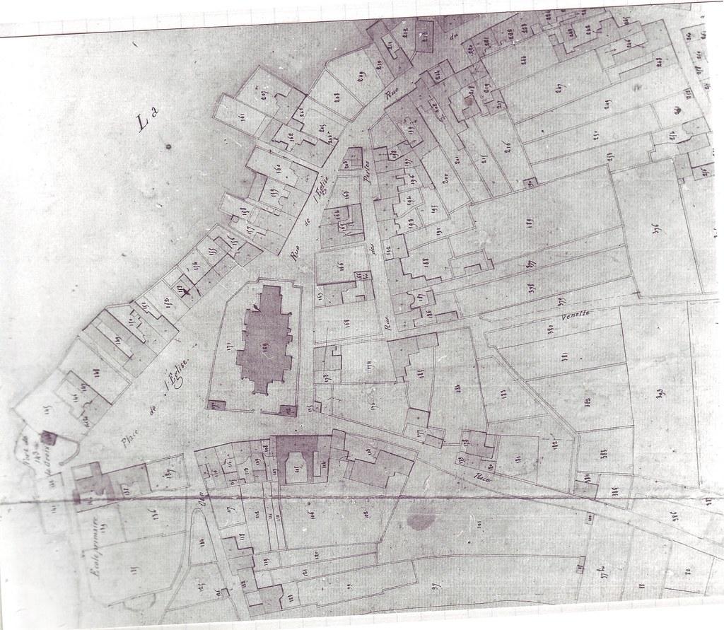 Roscoff - archives Feutren - Cadastre centre ville