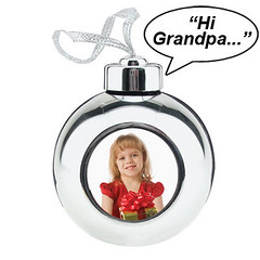 Recordable Photo Ornament by momentimedia