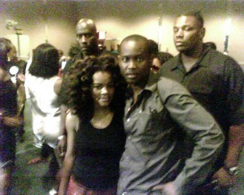 Teyana Taylor and Reggae artist Pintoslash