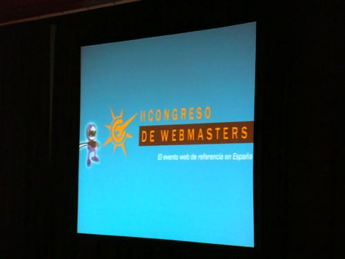Bienvenidos al Congreso de Webmasters 2008