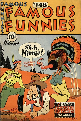 Famous Funnies 148 (by senses working overtime)