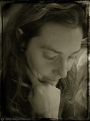 Concentracin (Ente inexistente) Tags: portrait face sepia portraits retrato cara retratos rostro virado concentracin duotono