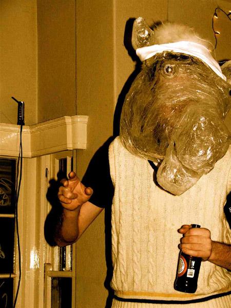 Horse-head-worn