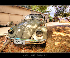 Artie The Love Bug :: HDR (Artie | Photography :: I'm a lazy boy :)) Tags: photoshop canon volkswagen factory shadows cs2 beetle australia wideangle chrome handheld adelaide 1020mm southaustralia hdr herbie lovebug winking artie volkswagenbeetle lightings 3xp sigmalens photomatix tonemapping tonemap 400d rebelxti