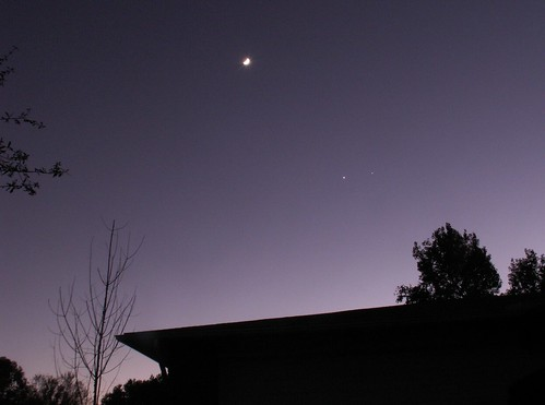 The Moon, Venus, and Jupiter 3