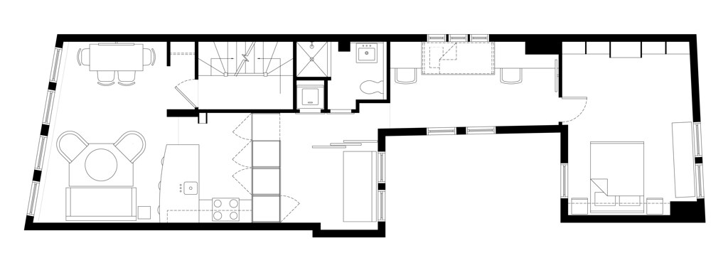 Floor Plan - North End Apartment
