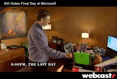 Bill Gates Last Day by WebcastrTv