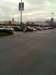 a parking lot on Rockville Pike (by: Isaac Kohane, creative commons license)