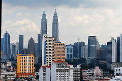Kuala Lumpur Malaysia (Dato' Professor Dr. Jamaludin Mohaiadin) Tags: tower skyline architecture buildings lights petronas malaysia kuala prof klcc lumpur nigh dato 5photosaday jamaludin maohaiadin