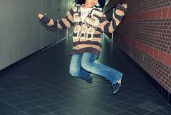 Dezzzi (youryellowbird) Tags: school fun jumping highschool afterhours