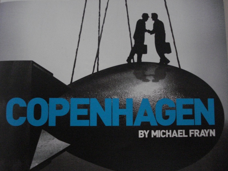 michael frayns copenhagen essay By michael frayn full length play, drama / 2m, 1f in 1941, german physicist  werner heisenberg went to copenhagen to see his danish counterpart, niels.