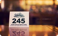 #243/365 (isayx3) Tags: 35mm table nikon dof bokeh retro number hamburger resturant nikkor f18 tones d40 farmerboys plainjoe isayx3 øutstandingimages
