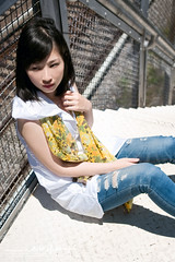 Eve (AehoHikaruki) Tags: life light portrait people cute girl nice interesting asia sweet album great chinese taiwan lazy taipei lovely