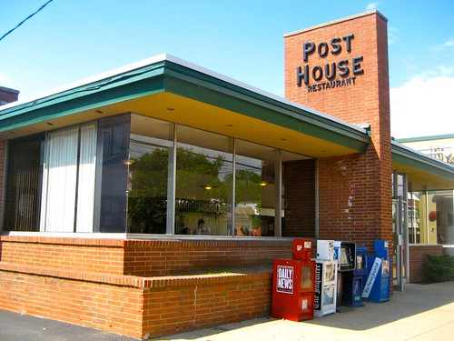 Post House Restaurant Exterior