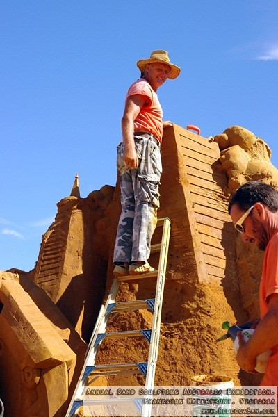 Annual Sand Sculpting Australia exhibition, Frankston waterfront-32