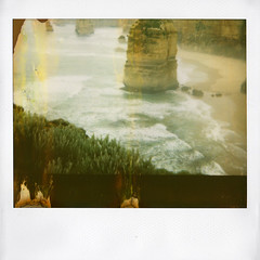 110210_Australia10x (Dutch Design Photography) Tags: sea film nature landscape polaroid photography fotografie image natuur australia melbourne zee adelaide instant 1200 spectra greatoceanroad downunder landschap