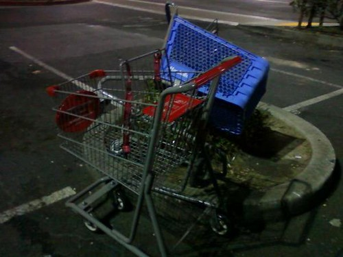 crips vs bloods. Crips vs bloods- Cart Wars!