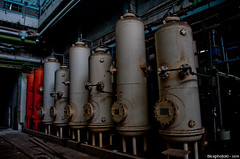 Containers (Bice_) Tags: old urban plant abandoned glass station t three hall high stair power steel s communist generator r laboratory lonely machines coal exploration phase chemicals height urbex 120kv erm hlzat bnhida 35kv