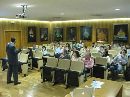 Luis Salvador en el Seminario de 2010