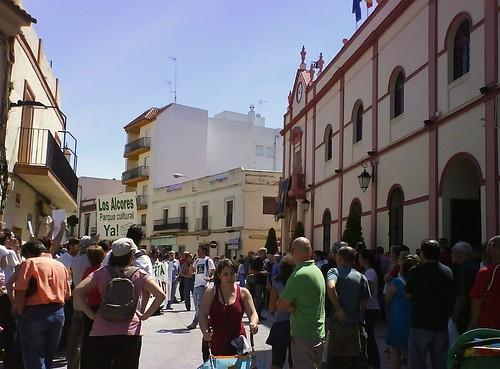 15M en pleno Ayto. Alcalá de Guadaíra 3