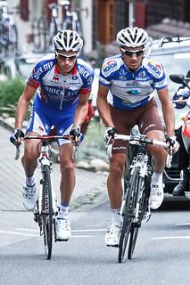 Sylvain Chavanel & Lloyd Mondory