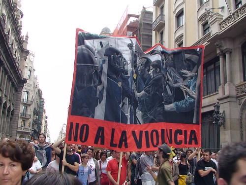 19J No a la violencia by Junjan