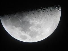 Moon (Manυ) Tags: chile sky blackandwhite bw moon blackwhite desert noiretblanc nb atacama