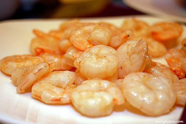 eggwhite prawns
